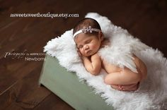 READY TO SHIP Newborn Angel Wings Sweet by ASweetSweetBoutique
