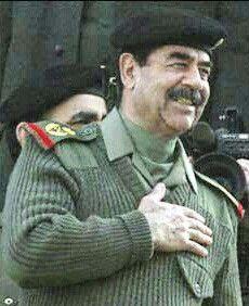 الرئيس الراحل صدام حسين المجيد رحمه الله