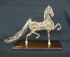 THREE-GAITED by Suzan Dudula | American Saddlebred Museum 2007 Auction