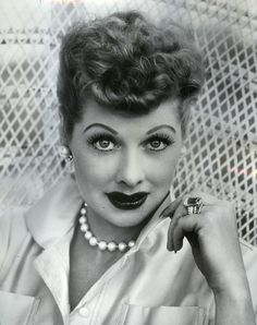 Lucille Ball.  President of Desilu Studios.  Co-founded with Desi Arnaz, her then husband, in 1950.