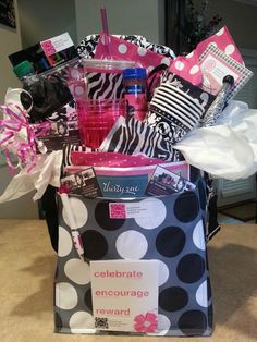 I put this Thirty-One Thermal Set together to donate to school fundraiser. Includes Picnic Thermal Tote, Bring-A-Bottle Thermal, small Timeless Memory Pouch plus other gifts. Also includes picnic items such plates, cups, cutlery set,  napkins & 2 drinks.   www.mythirtyone.com/jacquiepowell. Thanks for looking! If you want a set put together,  contact me. Thanks!