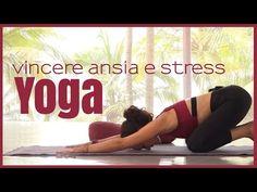Yoga - Come eliminare lo stress da collo e spalle - YouTube