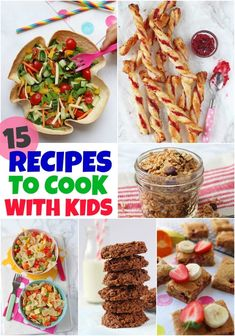 With some some schools already closed and with some families having to self isolate, we thought it might be useful to share some recipes that are great to cook with the kids! We've included baking recipes, but we've also listed some family main meals and savoury snacks to make too! #cookingwithkids #homelearning #recipesforkidstomake