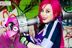 Slayer Jinx from League of Legends Cosplay
