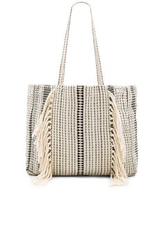 AMUSE SOCIETY Golden Hour Tote in Black Sands