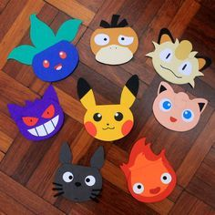 Paper creations that DA artist endless-whispers created for a convention! What a great idea for door decs~
