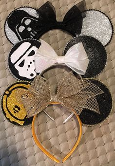 Star Wars mouse ears/ Mickey Mouse /Minnie Mouse /Darth