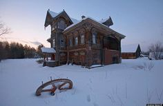 Abandoned Russian Beauty