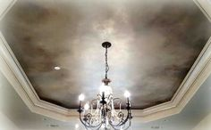 Ceiling Glam :) by Becky Watson
