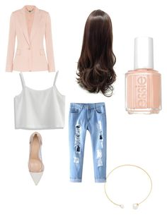 """""""Untitled #3"""" by stepha9763 on Polyvore featuring STELLA McCARTNEY, Chicwish, Gianvito Rossi, Fallon and Essie"""