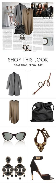 """Warpaint – Billie Holiday"" by wikiniki ❤ liked on Polyvore featuring Oris, MANGO, Ciao Bella, STELLA McCARTNEY, Madewell, Zero + Maria Cornejo, Ann Demeulemeester, Ralph Lauren, Oscar de la Renta and Givenchy"