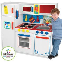 The Kidkraft Deluxe Letu0027s Cook Kitchen Is Large Enough That Multiple  Children Can Play At Once ...