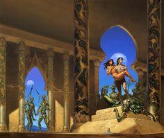 A Princess of Mars, by Michael Whelan