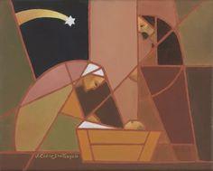 LDS Art - Christmas & Nativity — Altus Fine Art Canvas Frame, Canvas Art, 100 Piece Puzzles, Lds Art, New Star, Artist Gallery, Native Art, Selling Art, Geometric Shapes