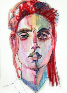 dope original visual artwork from toronto ; http://babesngents.com/pages/anya-mielniczek-profile-interview // #babesngents