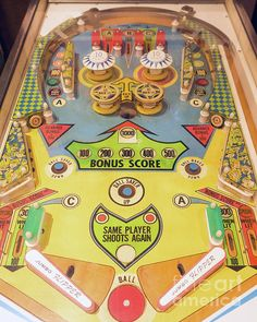 JUMBO FLIPPER! - Vintage pinball machine art