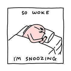 Ya snooze, ya lose?! More like - ya snooze, ya wake up feeling well rested and ready for a hearty, fruitful day ♀️♀️