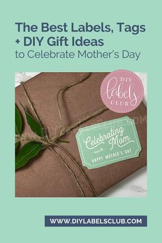 Mom's and teachers work so hard all year round so this year for Mother's Day and Teacher Appreciation Day let them know how much you care with the ultimate gift tag and label pack. Head over to the DIY Labels Club blog for the best list of DIY gift ideas then get to work putting together the perfect gift packs for your moms and teachers. Diy Holiday Gifts, Teacher Christmas Gifts, Unique Christmas Gifts, Holiday Crafts, Diy Gifts For Mothers, Diy Body Butter, Homemade Essential Oils, Gift Cards, Teacher Appreciation
