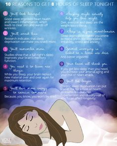 10 Reasons to Get 8 Hours of Sleep Tonight - There are a million benefits to getting a good night's rest—here are the ones you should care about.