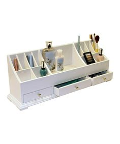 White Large Cosmetic Organizer