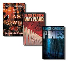 Blake Crouch. These books blew my mind. Can't wait for the tv show.