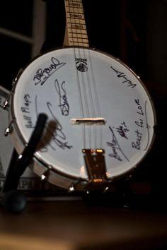 autographed guitar