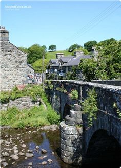Llanbedr - The village with access to spectacular mountains, woodlands, river and coast between Barmouth and Harlech in Snowdonia, Wales, UK