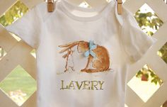 personalized onesie or toddler shirt short by rebekahcrisco, $22.00