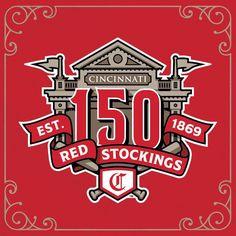 During the 2019 season the Reds will celebrate the anniversary of professional baseball Cincinnati Reds Baseball, Kentucky Basketball, Pittsburgh Steelers, Dallas Cowboys, Go Red, Baseball Season, National League, San Francisco Giants, Oakland Raiders