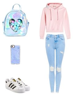 """""""So cute 💗 #cool #likes #pink"""" by eva-buyanova on Polyvore featuring мода, Vetements, adidas Originals, Sugarbaby и Casetify"""