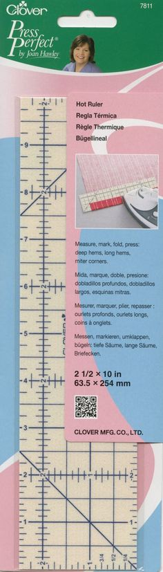 New: Hot Ruler for Clover Press Perfect