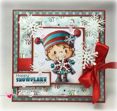 Snowflake from the November release, Snowy Sentiments and new Snowflakes dies too!