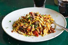 Sicilian lentil and olive ragu