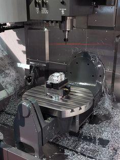 Haas UMC 750 Machining by Haas Automation, Inc., via Flickr