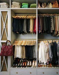 Esse closet é perfeito pra mim...annie schlecter closet