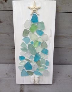 Seaglass Art/Coastal Living Holiday ~by My Honeypickles