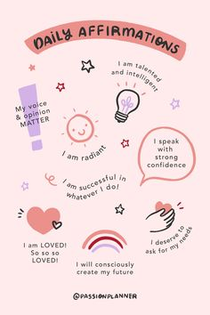 Affirm yourself as much as you would your best friend. 💞 What affirmation resonates with you? Positive Self Affirmations, Affirmations For Success, Morning Affirmations, Body Positive Quotes, Positive Thoughts, Vie Motivation, Self Care Activities, Budget Planer, Self Improvement Tips