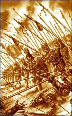 Warhammer Fantasy Roleplay, Fantasy Rpg, Medieval Fantasy, Fantasy Artwork, Dark Fantasy, Warhammer Empire, The Elder Scrolls, Landsknecht, Cool Art
