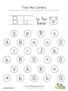 Letter Worksheets for Kids. 20 Letter Worksheets for Kids. Letter B Crafts, Letter B Activities, Letter B Worksheets, Letter Worksheets For Preschool, Nouns Worksheet, Kindergarten Worksheets, Printable Worksheets, Alphabet Letters, Free Printable