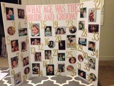 Have multiple pictures of the bride and groom at different ages closest at the end of the night wins the prize OFF our bridal shower invitation card, bridal shower games, bridal shower gift ideas from our store. Bridal Shower Prizes, Fun Bridal Shower Games, Bridal Shower Party, Bridal Shower Decorations, Bridal Shower Invitations, Bridal Showers, Couple Shower Games, Bridal Party Games, Bridal Parties