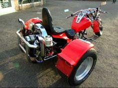 Custom VW Trikes | custom built vw trike - Videos uit Slagharen - Plaats.nl