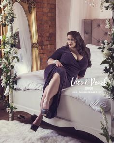 "1,336 Likes, 33 Comments - Louise Varns (@louisevarns_official) on Instagram: ""Photography by @laceandpearlboudoir dress by @scarlettandjo ❤️ #beautyhasnosize #beauty #bbw #curvy…"""