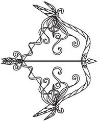 bow and arrow tattoo designs 12