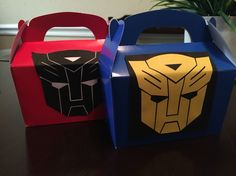 Transformers- Birthday Favors