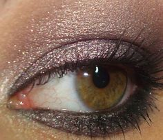 """illusoire chanel. love smoky shiny eyes! and this is my eye color """"light golden brown"""""""