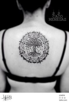 tattrx: Caco Menegaz - Tree of Life...