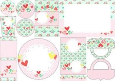 Pajaritos Enamorados: Stickers for Candy Bar for Wedding for Free Print.