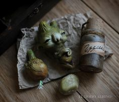 I´ve just finished two assemblage boxes , one dedicated to mandrakes and the other one about magical ingredients f...