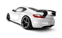 Porsche white black