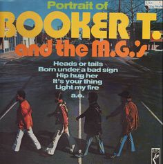 Booker T. & The Mg's Portrait Of Booker T. And The M.g.'s LP